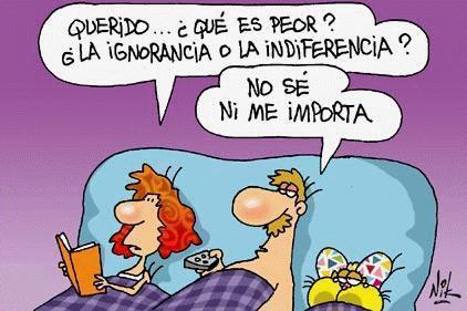 La ignorancia nos acompaña siempre : Blog de Emilio Silvera V.
