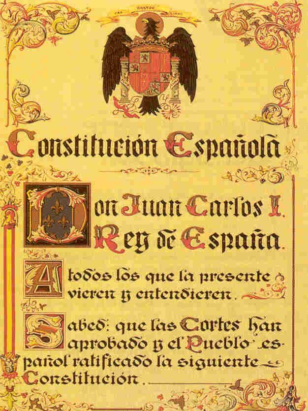 Resultado de imagen de constitución española félix rodrigo mora